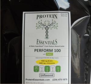 Perform 100 Protein Essentials