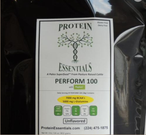 Perform 100 Protein Essentials