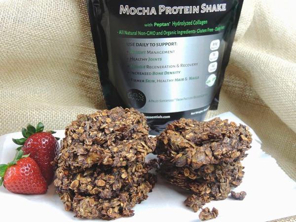 Mocha Breakfast Cookie